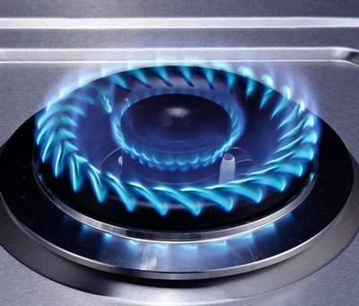 煤气灶蓝火焰