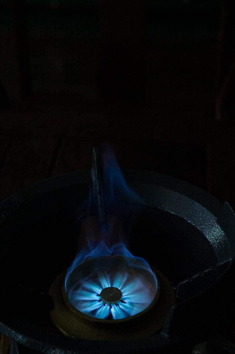 Lửa Marshal áp suất trung bình khốc liệt bếp lửa trình diễn 1.jpg